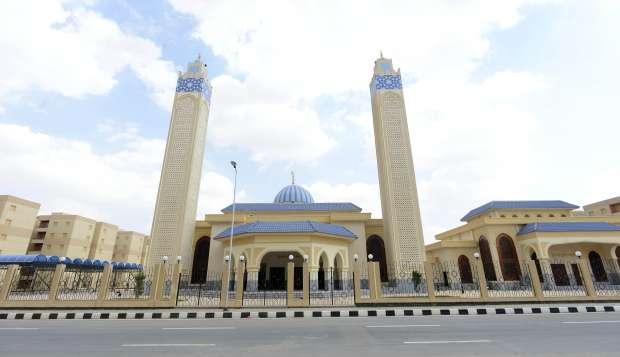مسجد أبو بكر الصديق دهشور